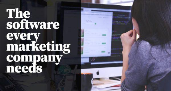 The software every marketing company needs