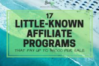 Affiliate marketing : More than 130+ affiliate programs + more high paying ones