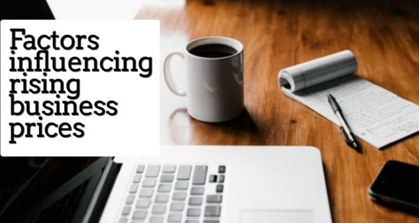 Factors influencing rising business prices