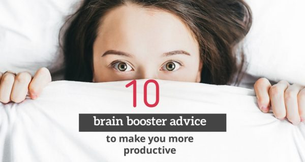 10 brain booster advice to make you more productive throughout the workweek