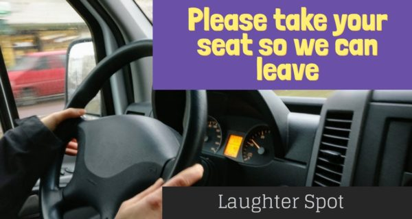 Laughter Spot  : Who is the driver?