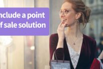 Don't forget to include a point of sale solution in your retail business plan