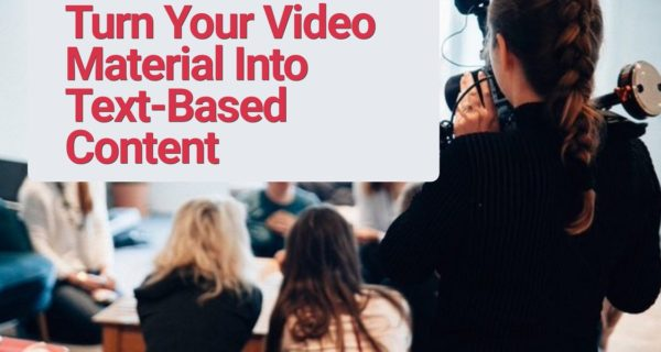 How transcription can improve your video SEO