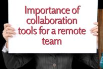 Importance of collaboration tools for a remote team