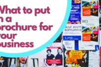 What to put in a brochure for your business: The best tips