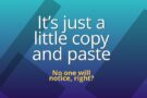 Thinking about copying someone else's blog post? Think again!