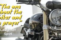 "Biker's Laughter Spot : ""The one about the biker and a prayer"""