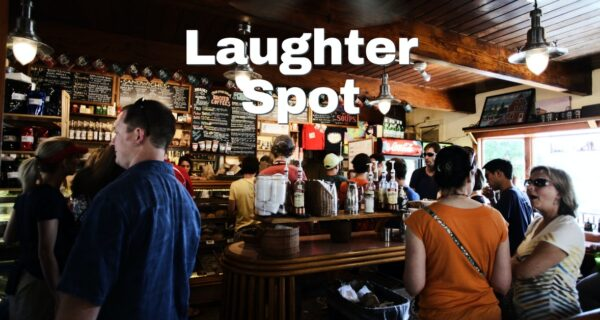 Laughter Spot : A talking duck? That's unusual