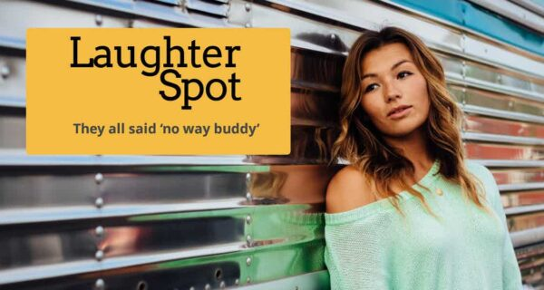 "Laughter Spot : ""Lola has never said no"""