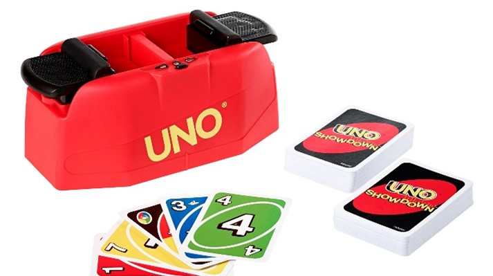 The Uno card game is a family favourite